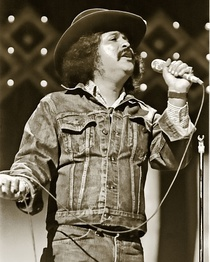 Freddy Fender performing Tejano music after The Johnny Cash Show in Nashville, Tennessee (1977)