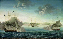 The Battle of Valparaíso ended the American naval threat to British interests in the south Pacific Ocean.