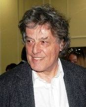 Tom Stoppard after the premiere of The Coast of Utopia in 2007.
