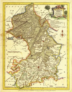 Isle of Ely 1648 by J Blaeu