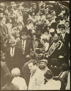 Jazz Funeral, Tulane University yearbook, 1969