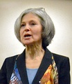 Jill Stein of Massachusetts, Physician and chair of the Green-Rainbow Party