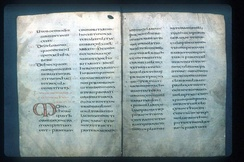 An 8th-century copy of the Rule of Saint Benedict
