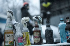 "Molotov cocktails produced for use in the ""Euromaidan"" protests"