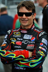 Jeff Gordon remained the points leader after coming third in the race.