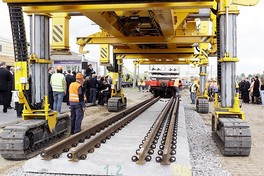 Construction of the dual-gauge railway track in Lithuania (Rail Baltica project)