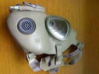A gas mask from the Czech Republic