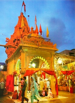 Panchmukhi Hanuman Mandir in Karachi, Pakistan is the only temple in the world which has a natural statue of Lord Hanuman