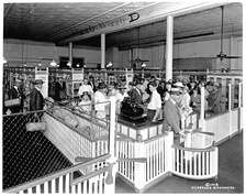 Piggly Wiggly was the first self-service grocery store, opening in 1916.