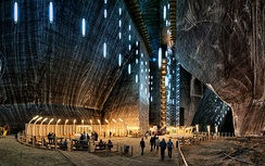 Main gallery of Salina Turda