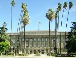 San Bernardino County Court House, built in 1926.