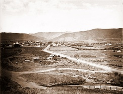 The city in 1876