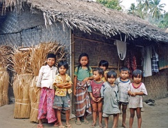 Local Sasak children (c.  1997)