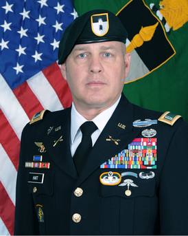 Chief Warrant Officer 5 Robert W. Hart, Command Chief Warrant Officer, U.S. Army Special Operations Center of Excellence