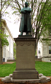 Statue of William Goebel in Frankfort