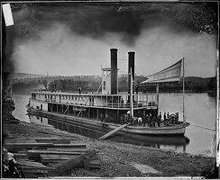 Look out (Transport Steamer) on Tennessee River, ca. 1860 – ca. 1865