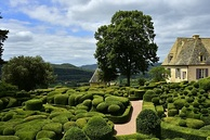 The Château de Marqueyssac, featuring a French formal garden, is one of the Remarkable Gardens of France.