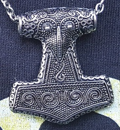 The hammer Mjölnir is one of the primary symbols of Germanic neopaganism.