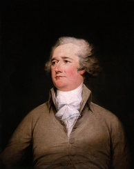 Alexander Hamilton wrote the Federalist papers with Jay and Madison.