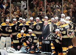 The Bruins were the 2013 Eastern Conference champions, their second Conference title in three years.