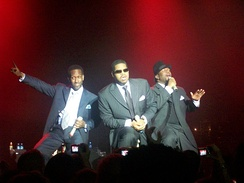Boyz II Men Live at Vegas in 2008.
