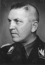 Concentration Camp Inspector Theodor Eicke to whom Glücks was chief of staff