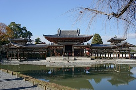 Byōdō-in (Pure Land sect), located in Uji, Kyoto