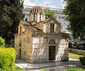 The Little Metropolis in Athens, built on unknown dates, between the 9th century to the 13th century