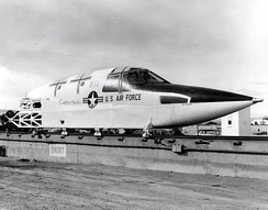 Ejection pod undergoing testing