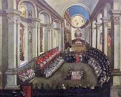 The Council of Trent reaffirmed the seven sacraments.
