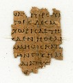 P {\displaystyle {\mathfrak {P}}} 87 is the earliest known manuscript of Philemon.