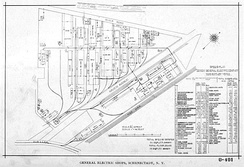Plan of Schenectady plant, 1896[8]