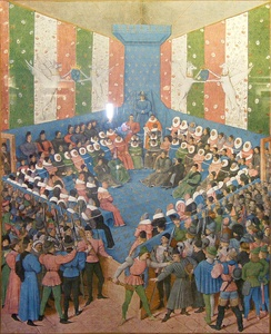 Trial of Jean II, Duke of Alençon, October 1458.