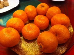 Mandarins, here served in a Hong Kong restaurant, are among the oldest cultivated citrus fruits.