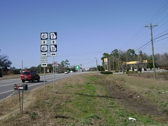 Southern terminus of US 41 Bus./SR 7 Bus. southeast of Valdosta