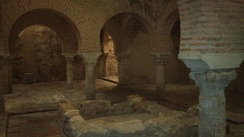 Largest Moorish baths in Spain, in Jaén. The Emirate of Granada was the last to survive, lasting from 1228 until 1492.