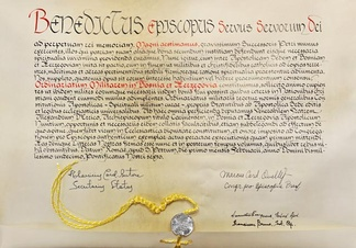 The Apostolic constitution Magni aestimamus issued as a papal bull by Pope Benedict XVI in 2011 which instituted the Military Ordinariate of Bosnia and Herzegovina
