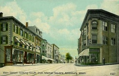 Main Street from Market Square in 1911