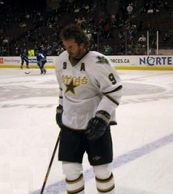 Dallas Stars center Mike Modano in 2006