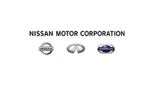 "Current Nissan ""Corporation"" logo 2013."
