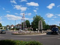 The war memorial roundabout