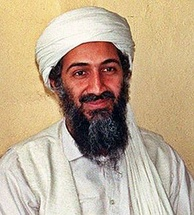 Osama bin Laden at about 40 years of age, 1997
