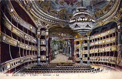 Auditorium. Postcard from 1909