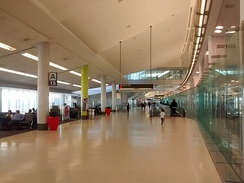 Interior of Terminal A West