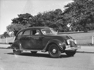Chrysler Airflow sedan, designed by Carl Breer (1934)