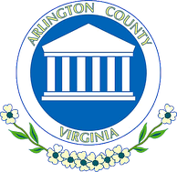The former Arlington County seal, used from June 1983 to May 2007