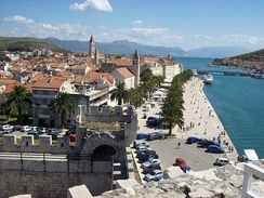 Historic centre of Trogir has been included in the UNESCO list of World Heritage Site since 1997[279]