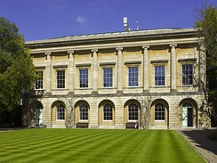 Designed by James Wyatt and completed in 1796, this building houses the senior common rooms and library.