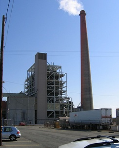 Potrero Generating Station discharged heated water into San Francisco Bay.[3] The plant was closed in 2011.[4]