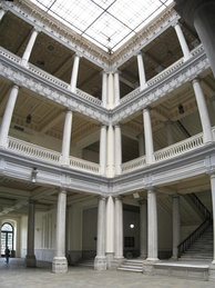 Interior of the main building